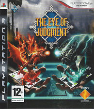 THE EYE OF JUDGMENT for Playstation 3 PS3 - with box & manual