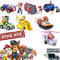 PAW PATROL Vehicle & Figure Toy Marshall Rubble Chase Rocky Zuma Skye Ryder