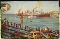 Egypt Coaling at Port Said - unposted
