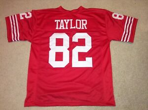 UNSIGNED CUSTOM Sewn Stitched John Taylor Red Jersey - M, L, XL, 2XL
