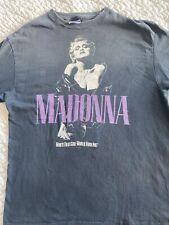Madonna Who's That Girl World Tour 1987 Original Worn Xl T-Shirt