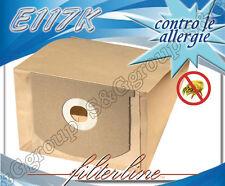 E117K 8 sacchetti filtro carta x Volta Serie F1 U2140