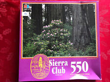 Redwood National Forest, Ca 550 Pc Sierra Club Jigsaw Puzzle Factory Sealed 1993