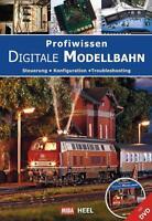 Profiwissen Digitale Digital Modellbahn Fahren MIBA Steuern Märklin Buch DVD