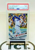 2017 Topps Update MLB Baseball Cody Bellinger RC PSA 9 Dodgers