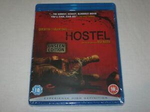 Hostel - Unseen Edition - Brand New & Sealed - Region B - Blu Ray