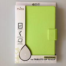 """Booklet Case Universal 8.9"""" Tablet Schutzhülle mit Aussteller PURO UNIBOOK89SILK"""