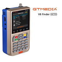 Satellite Finder Meter GTMEDIA V8 DVB-S2/S2X Satfinder High Definition 3.5'' LCD