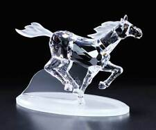 New Crystal World Mustang Horse Figurine