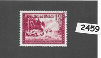 #2459    PF12+PF18 stamp / Hitler's 1941 culture fund / Third Reich WWII Germany