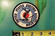 USSA United States Surfing Association Rare Original Surf Vintage Surfing PATCH