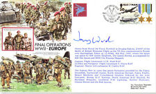 AF19A RAF Army Airborne Forces PARA IOM VE Day FDC signed cover