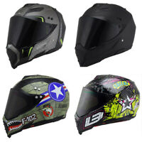 DOT Offroad Helmet Motorcycle Helmet Full Face Motocross ATV Dirt Bike M/L/XL