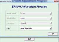 Reset Epson L5190