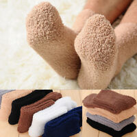 Warm Unisex Thicken Thermal Velvet Soft Casual Home Winter Floor Bed Socks
