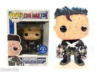 Captain America Civil War Crossbones Unmasked Pop! Funko Vinyl figure 139