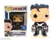 Captain America Civil War Crossbones Unmasked Pop! Funko Vinyl figure 139