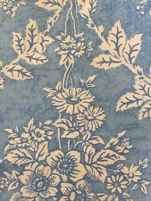 """Vintage Laura Ashley """"Summer Trellis"""" Print Double Bed Piped Quilt Cover"""