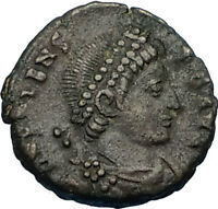 "VALENS ""Last True Roman"" 364AD Authentic Ancient Roman Coin VICTORY i65723"
