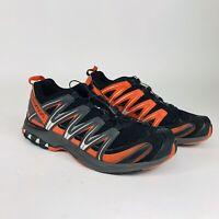 Salomom XA Pro 3D Mens Size 13 Orange Black Trail Running Hiking Shoes Sneakers