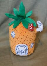 "Ty Beanie Buddy *Pineapple Home  from SpongeBob Bikini Buttom 12"" Retired New"