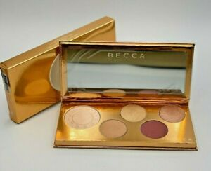 Becca Pop Goes the Glow Champagne Pop Face & Eye Palette NEW In Box 💯 Authentic