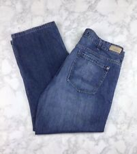 Men's Nautica Relaxed Fit Jeans Sz 38 Straight Leg Great Wash