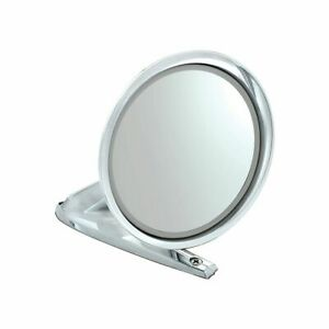 Bronco Fairlane Falcon Mustang Side Mirror Chrome RIGHT SIDE WITH CONVEX GLASS