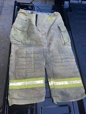 Morning Pride Firefighter Turnout Bunker Pants Mfg2003 Size 36w 29i Lot29
