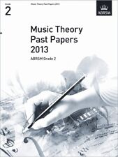 ABRSM Theory Of Music Exam 2013 Past Paper Grade 2 Learn to Play Test MUSIC BOOK