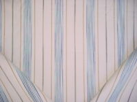 3-1/2Y Ralph Lauren LFY6566F Trouville Ticking Denim Stripe Upholstery Fabric
