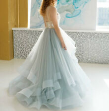 Spaghetti Strap Ball Gown A Line Formal Dresses Evening Party Cocktail Gown Prom