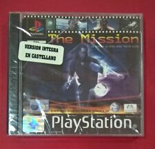 The Mission - PSX - PS1 - PLAYSTATION - NUEVO
