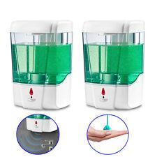 2pcs 700ml Automatic Sensor Soap Dispenser For Handwash fluid Bathroom Touchless