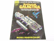 1978 Battlestar Galactica Marvel Super Special Comic Book Collector's Edition