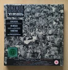 George Michael Listen Without Prejudice/MTV Unplugged 3CD/DVD BOX SET SEALED