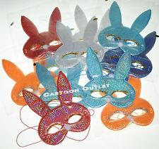 12 PCS Rabbit MASK PARTY BIRTHDAY FAVORS MASQUERADE MIX COLORS PARTY MASK  Kids
