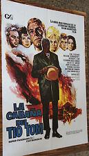 Utilisé - Poster de Cinéma LA CABANE L'ONCLE TOM Vintage Movie Film - Occasion