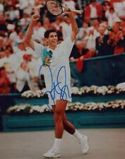 PETE SAMPRAS signed Autographed 8X10 PHOTO - US OPEN WIMBLEDON 14 Grand Slam COA