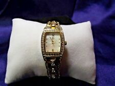 Woman's George  Watch  with Crystals & MOP Face **Beautiful** B110-849