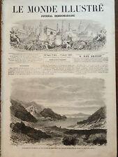 LE MONDE ILLUSTRE 1869 N 613 LES EVENEMENTS DE GRECE: LE PORT DE SYRA