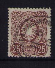 Deutsche Post in der Türkei, Mi-Nr. V 35 a, gestempelt, Vorläufer