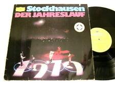 KARLHEINZ STOCKHAUSEN Der Jahreslauf Licht Gunter Hampel DG LP