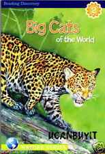 Nature Series Reading Discovery BIG CATS OF THE WORLD Book Gr 1-3 Level Reader 2