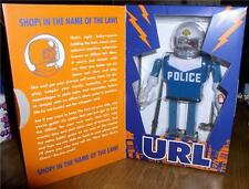Futurama URL Police Robot Action Wind Up Tin Toy