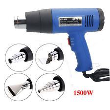 Heat Gun Hot Air Gun Dual Temperature 1500W 4 Nozzle Paint Stripper Power Tool
