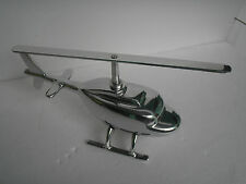 Metal Decorative Helicopter Figurine Table Top Decor f