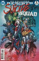 SUICIDE SQUAD #1 Rebirth COMIC BOOK NM DC Comics Harley Quinn