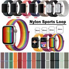 Nylon Armband Loop Uhrenarmband Für Apple Watch Series 5/4/3/2/1 38/42mm 40/44mm