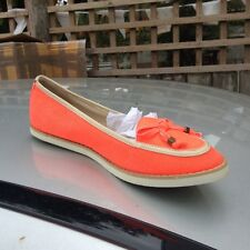 SIZE 4, EU 37, CORAL DOROTHY PERKINS, FLAT SHOES, LOAFERS, RRP £23, BNWT